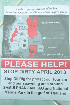 Oil fields around Koh Samui, march April 2103 English version