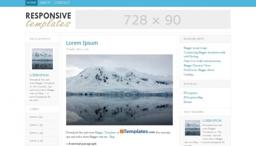 Download Template ResponsiveT
