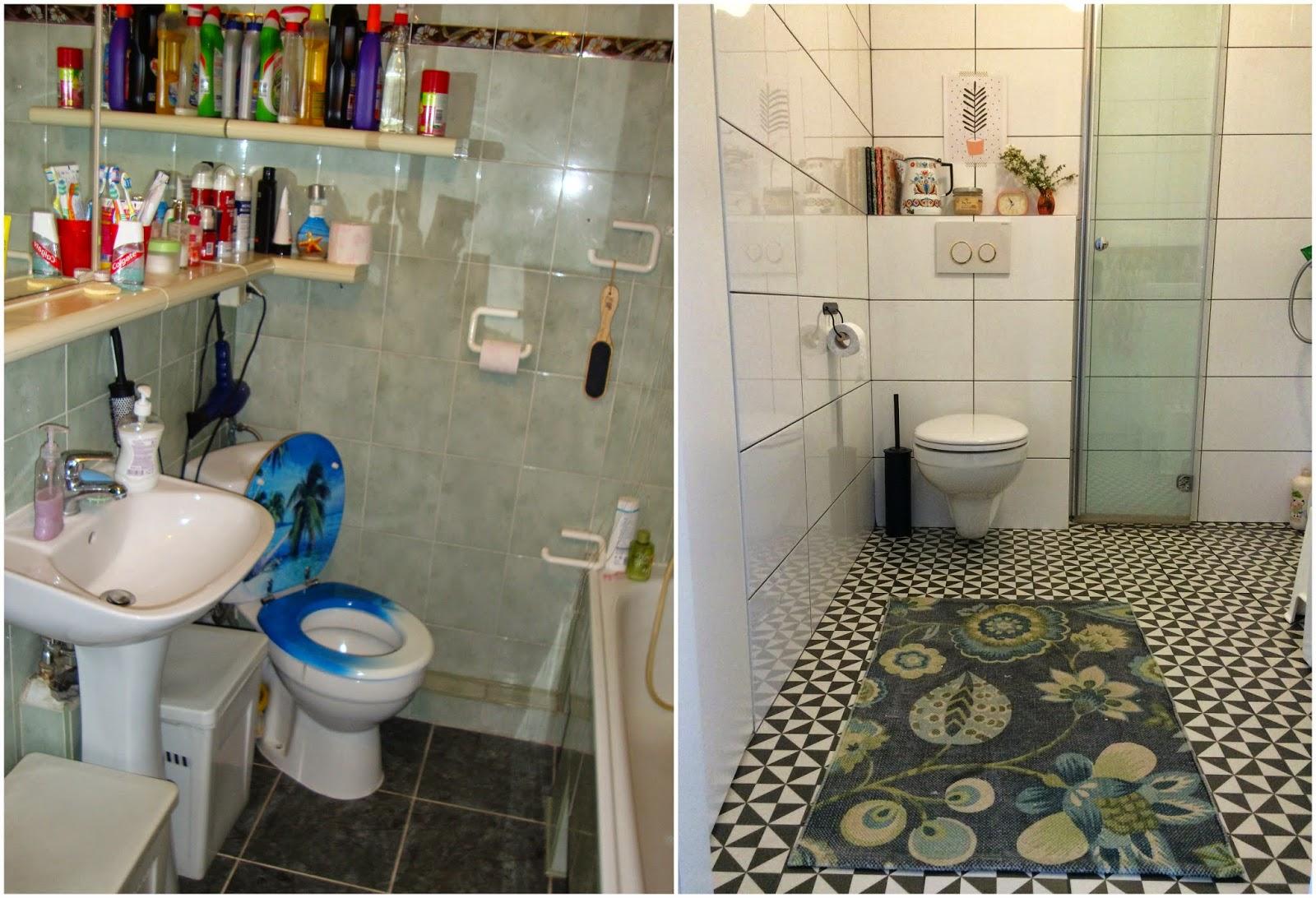 Mamajagody Nasz Dom Mała łazienka W Bloku