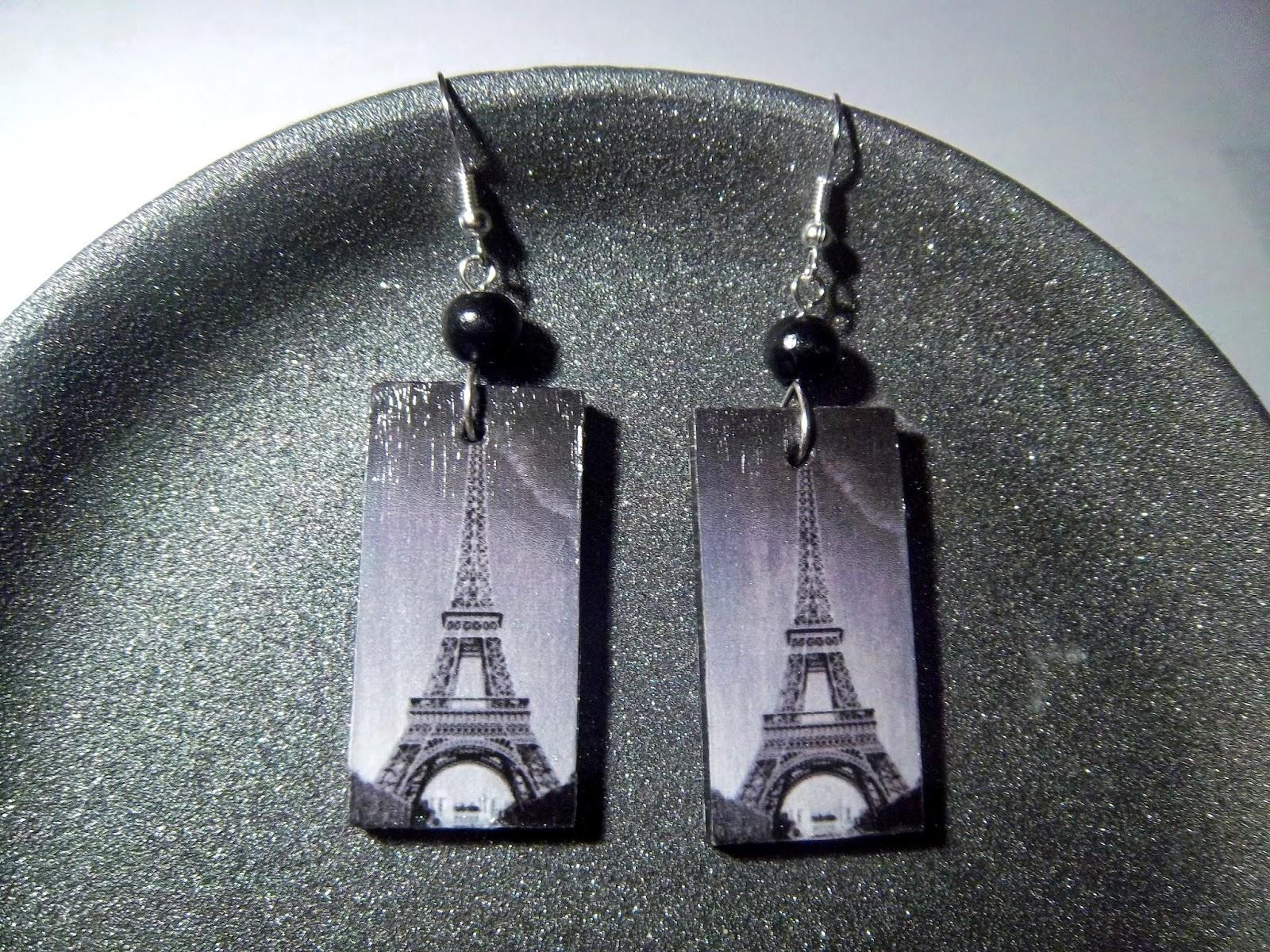 Czas na Paryż! Decoupage.