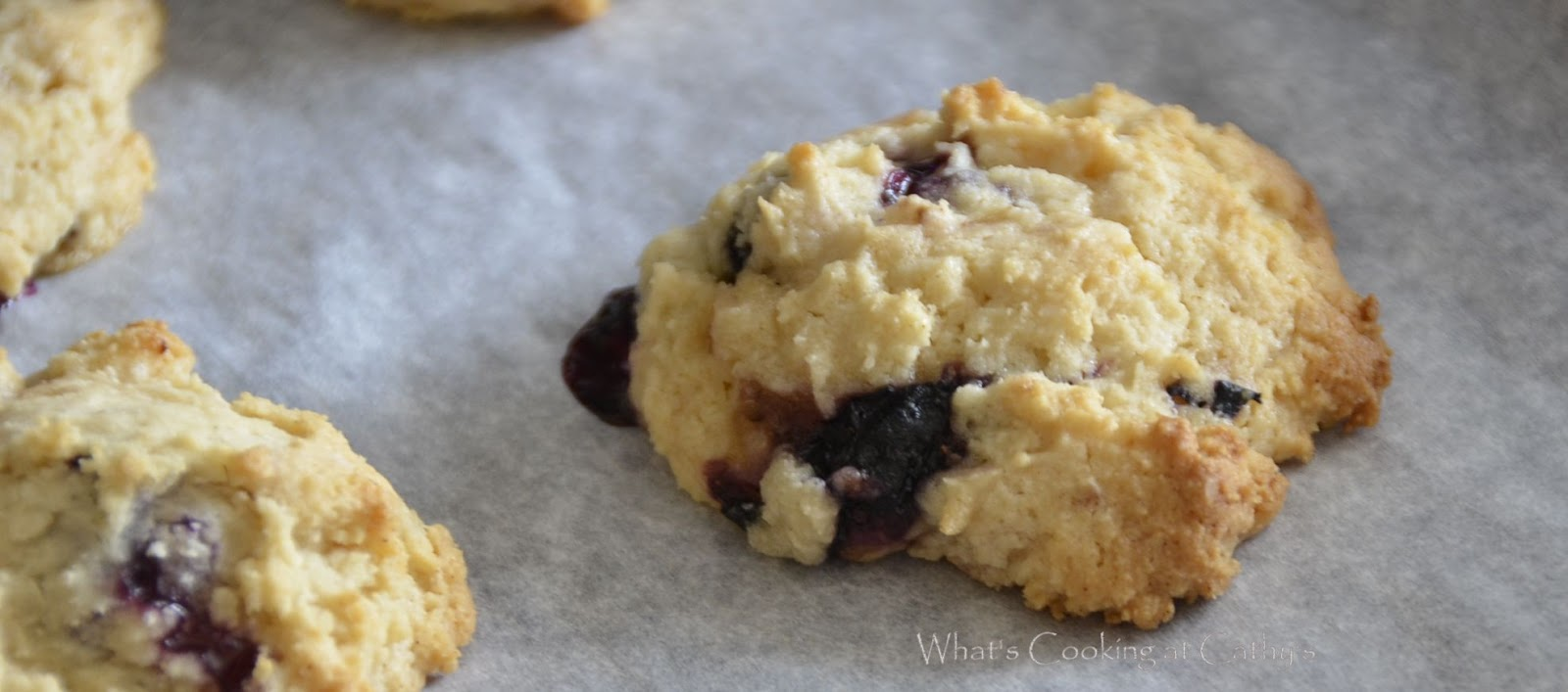 What's Cooking At Cathy's?: Lemon Blueberry Cookies
