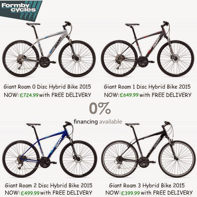 Giant Roam 2015 Disc Hybrid Bikes Collection