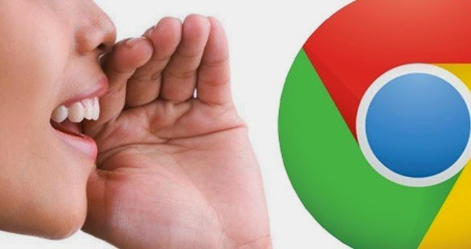 تطبيق ExtensiónVoice Actions for Chrome