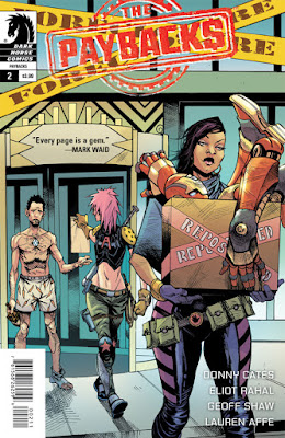 Cover of The Paybacks #2, Courtesy of Dark Horse Comics