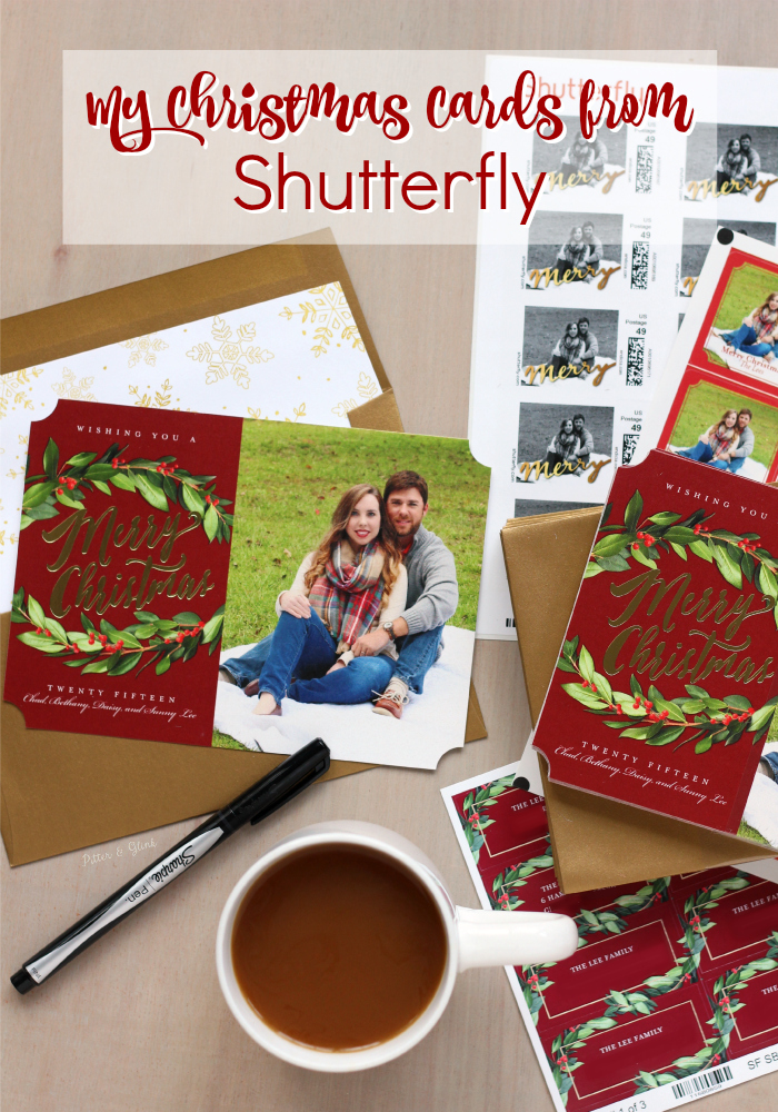 My Personalized Photo Christmas Cards from Shutterfly. www.pitterandglink.com