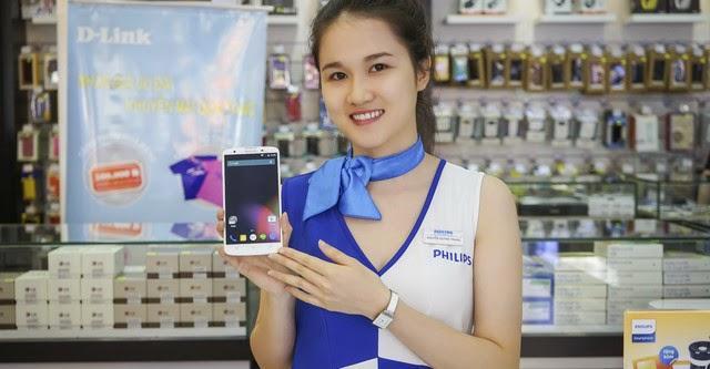 Philips Xenium I928 chính thức bán ra tại Việt Nam