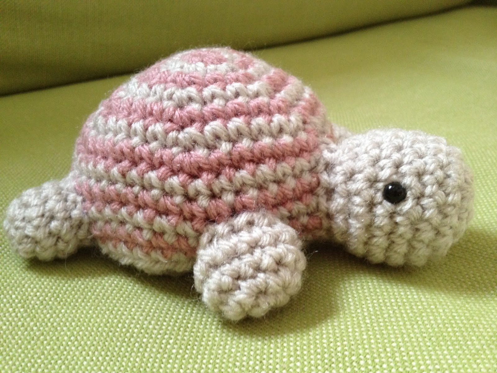 Free Crochet Pattern Turtle : Agnes Gurumi: Lily the Turtle (Free Pattern)