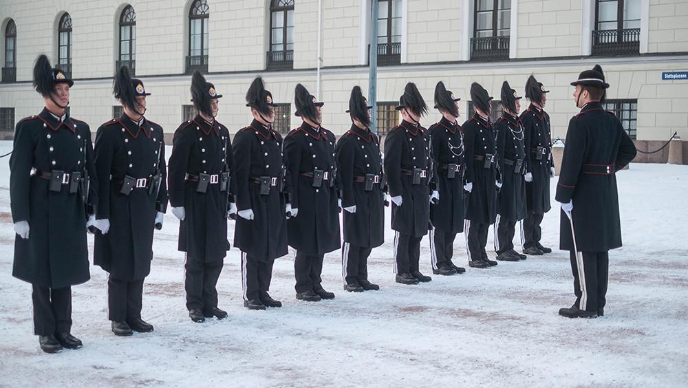 Смена караула в Осло