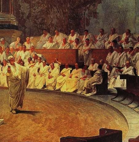 aristotle vs cicero 71 - rhetorical questions: cicero i'm catching up on my aristotle podcasts (alas, i say it to my shame, since i'm listening to the skeptics before my aristotle.
