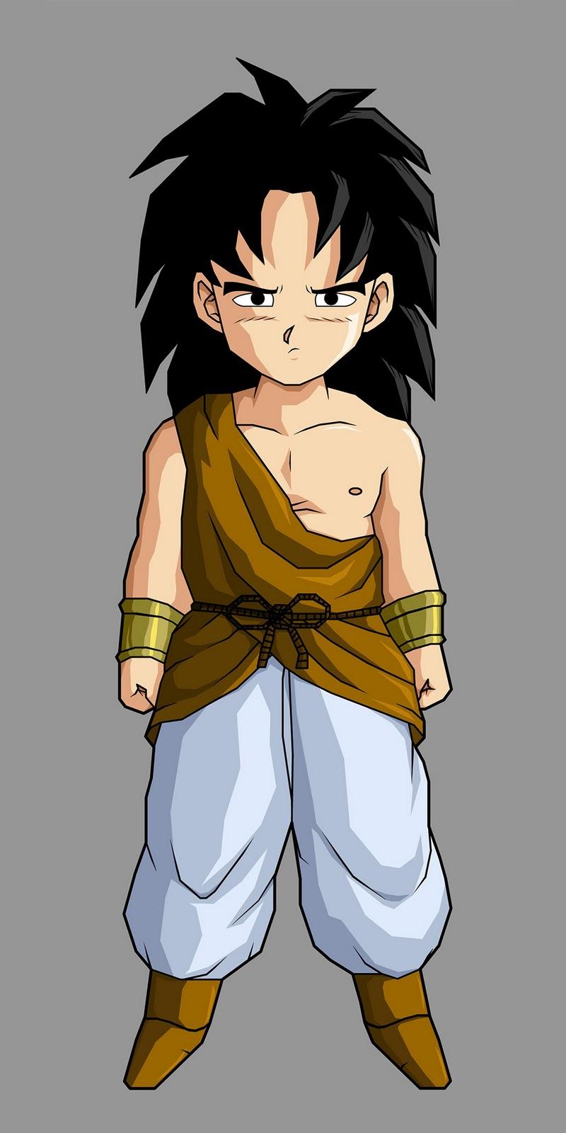 Animequizone a historia de brolly o ou lado do guerreiro - Dragon ball z baby broly ...