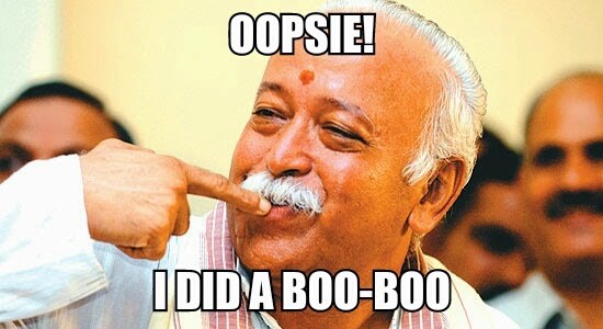 mohan bhagwat rss meme