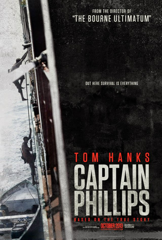 La película Captain Phillips ( Capitán Phillips )