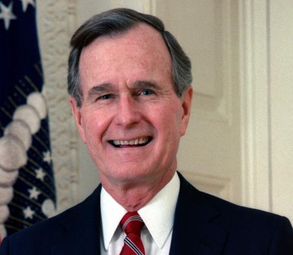 g h bush