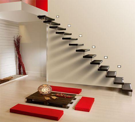 Decoracion actual de moda escaleras modernas for Escaleras ligeras