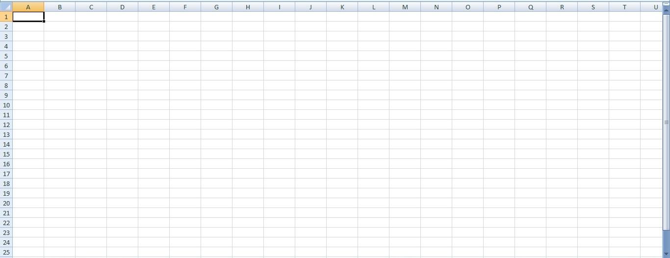 Tutorial Excel 2007 Bagian 1 worksheet