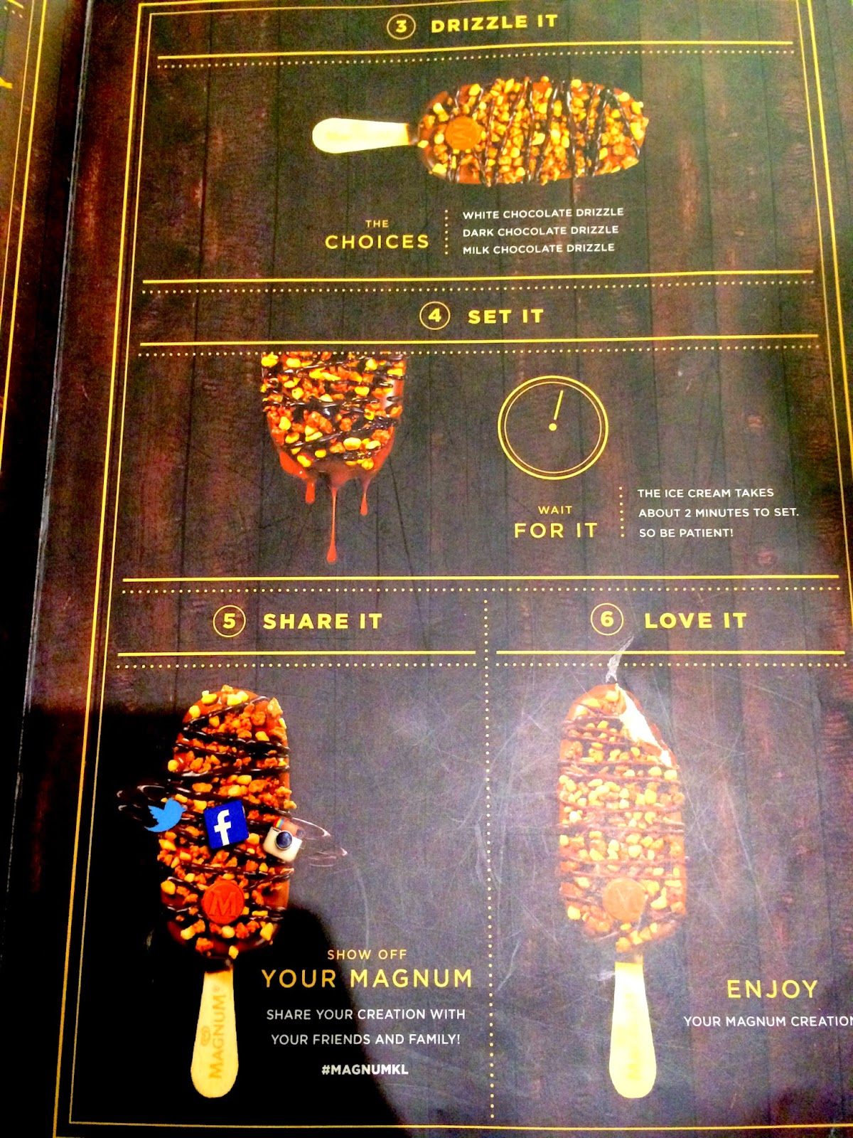 Make My Magnum @ Magnum Cafe Malaysia! | A Blog of Life