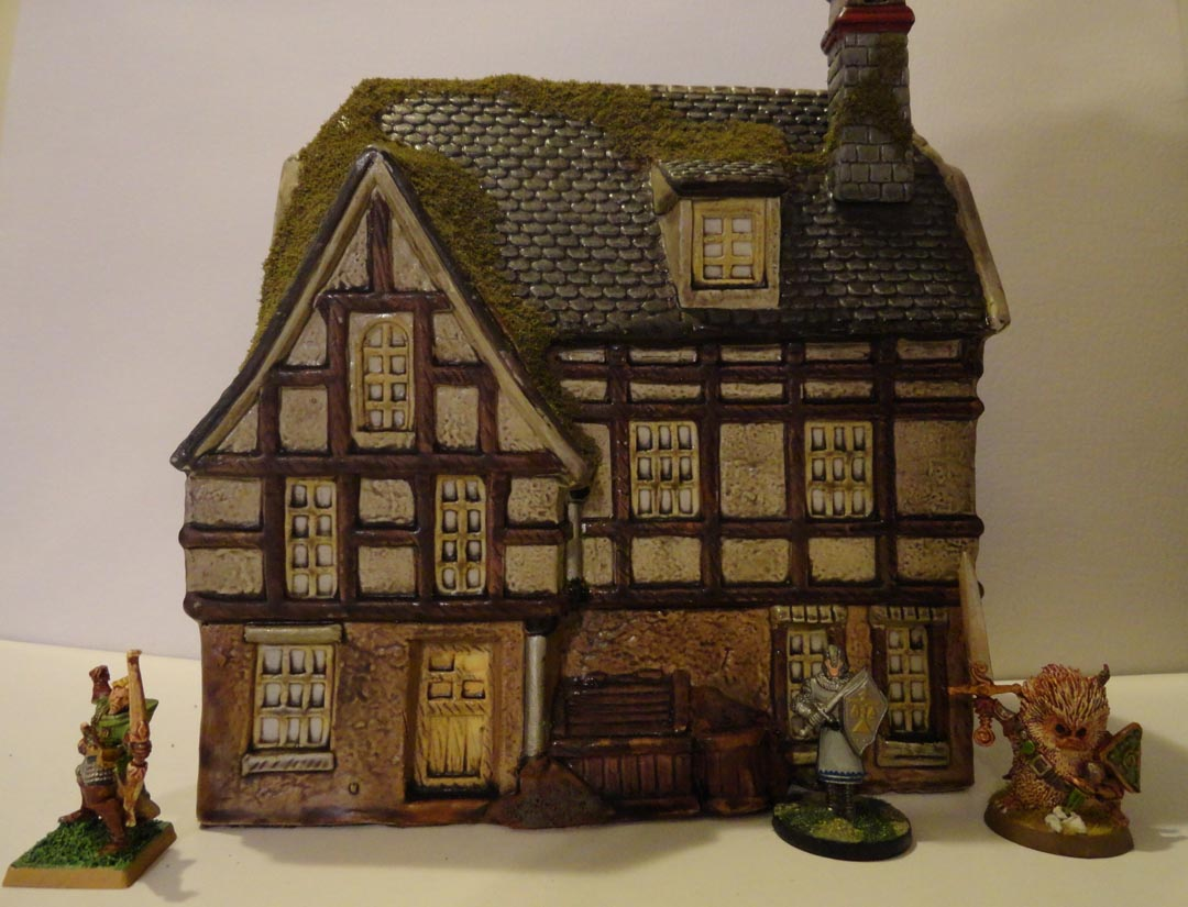 28mm On The Cheap Fast And Cheap Fantasy Buildings