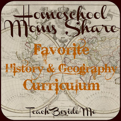 Homeschool History and geography curriculum favorites