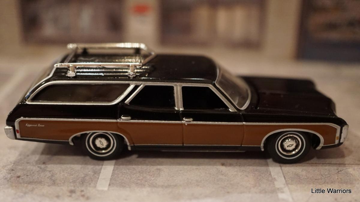 Chevrolet chevrolet station wagon : Little Warriors: auto world 1969 Chevrolet Kingswood Estate ...