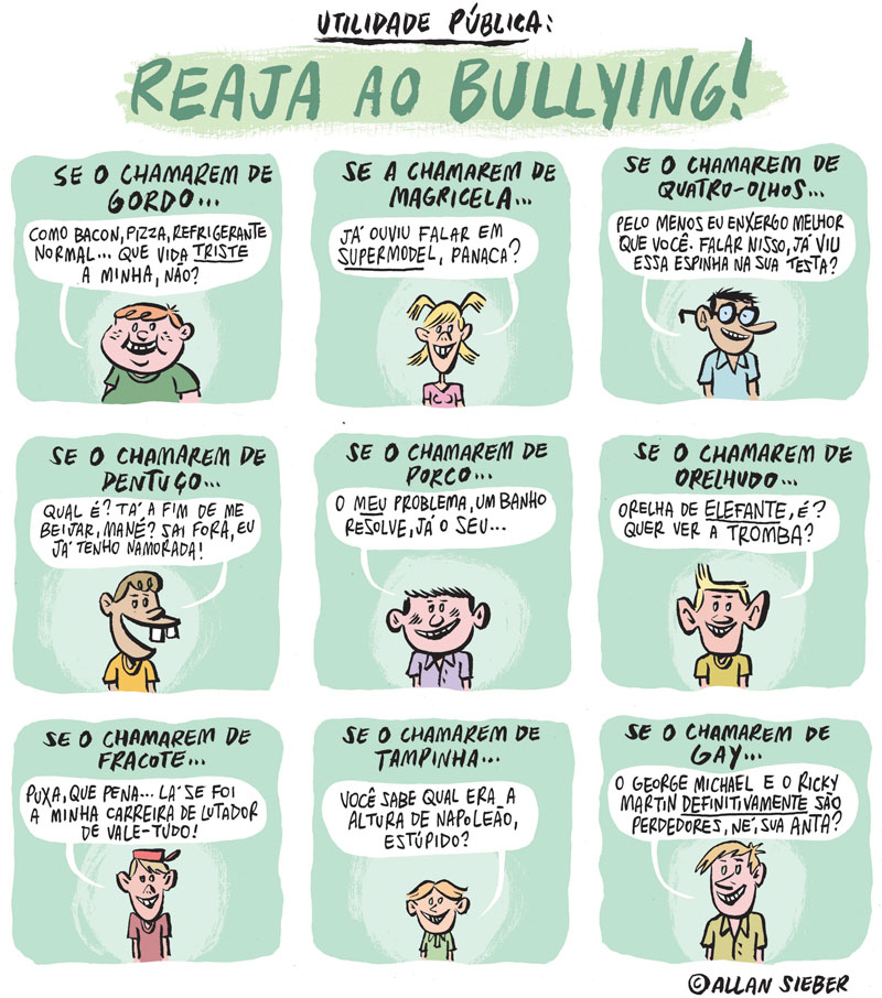 Bully: No Bullying: È alvo de bullying? Respostas para as