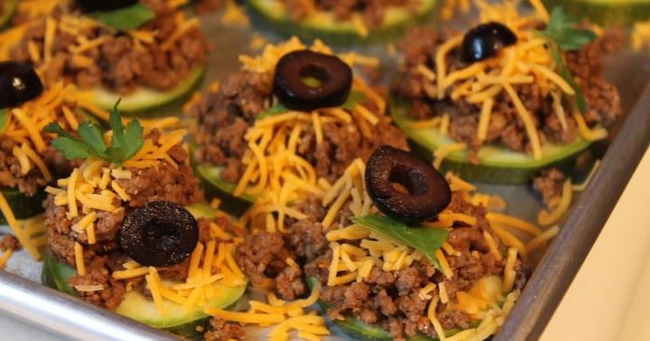 Mom's Frugal: Taco Zucchini Bites