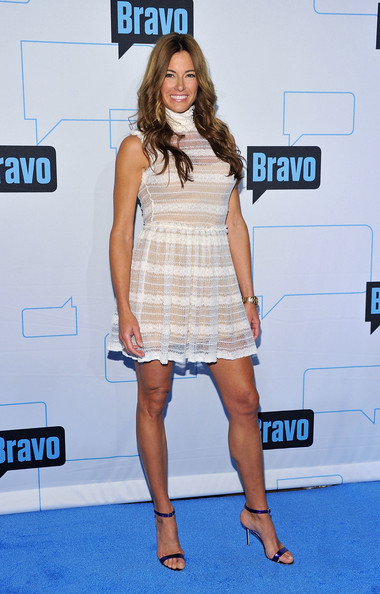Kelly Bensimon borrowed Lea Black's nude illusion to wear to the 2011 Bravo ...