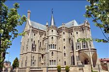 Palacio Episcopal de Astorga, obra de Antonio Gaudí