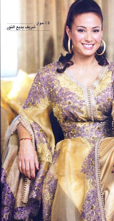 Stars marocaines et arabes en mode caftans marocains for Film marocain chambre 13 en ligne