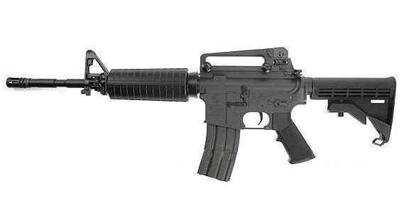 m4a1 carbine senjata populer yang sering muncul di game bahkan film film hollywood