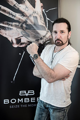 Eric Singer Visits The House of Bomberg Watches In BaselEric Singer Kiss 2013