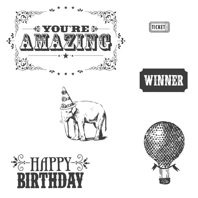 You're Amazing Stamp Set by Stampin' Up!