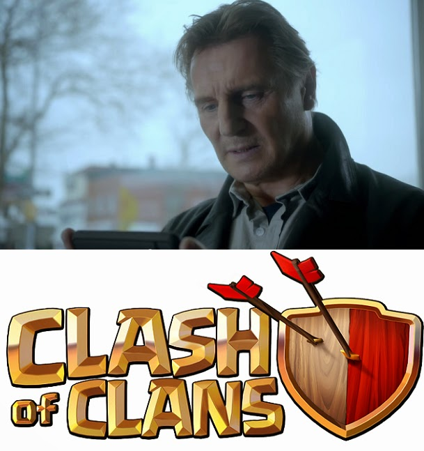 Watch Liam Neeson Plays Clash of Clans (COC) Video
