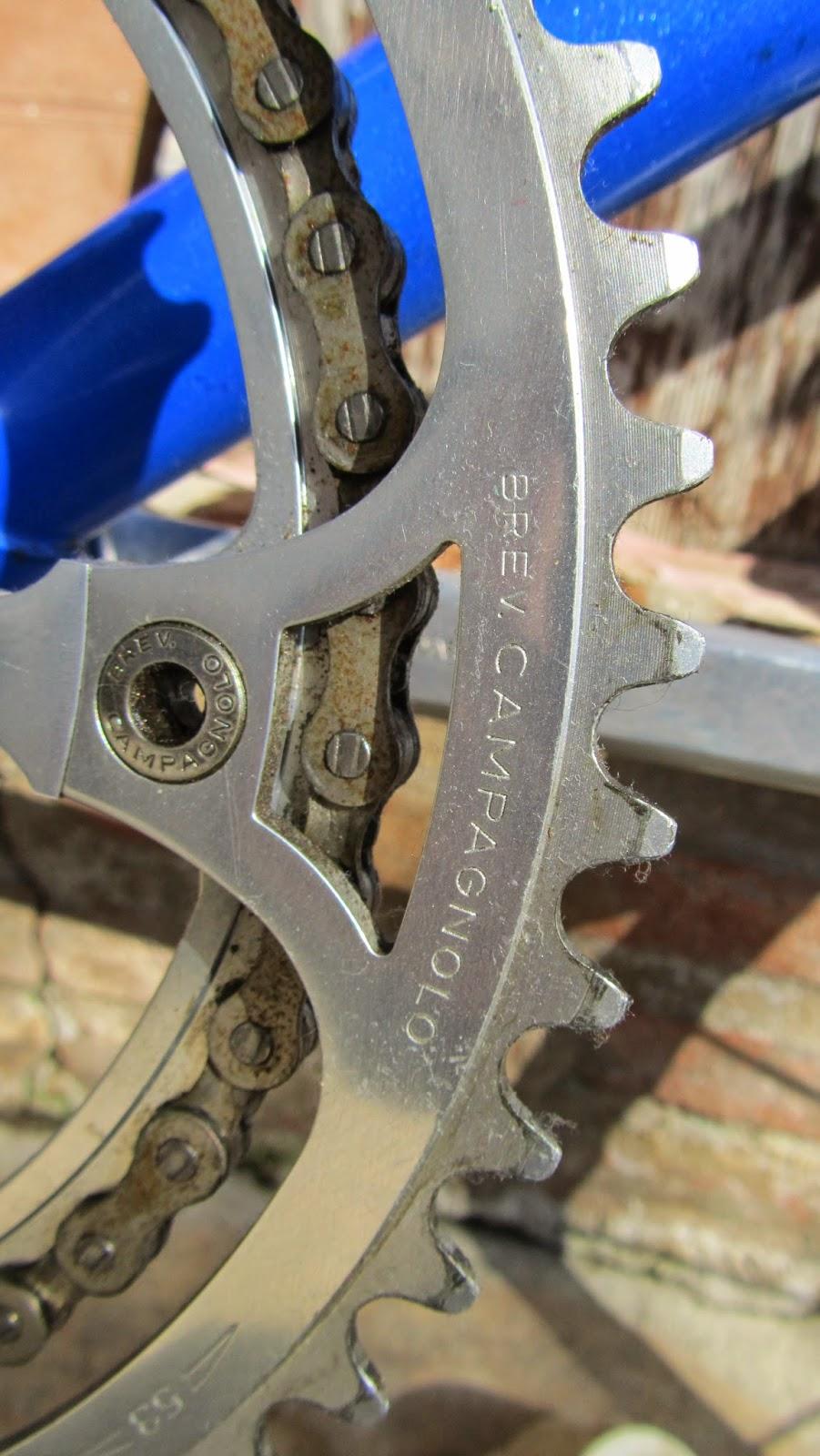 bicicleta orbea contrarreloj plato campagnolo