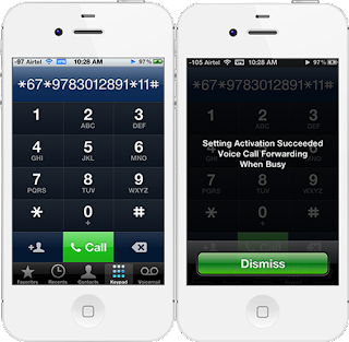 Call Forwarding in iPhone Simplified (when busy)