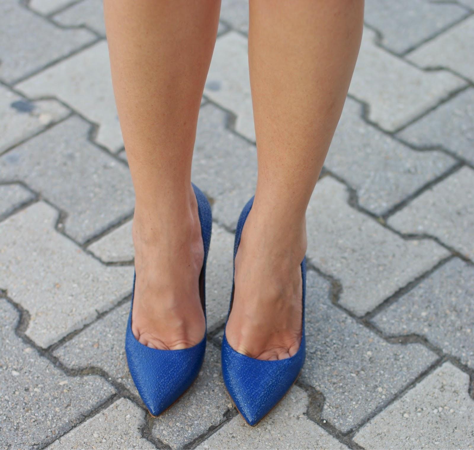 Sergio Levantesi shoes, blue pumps, Fashion and Cookies, fashion blogger