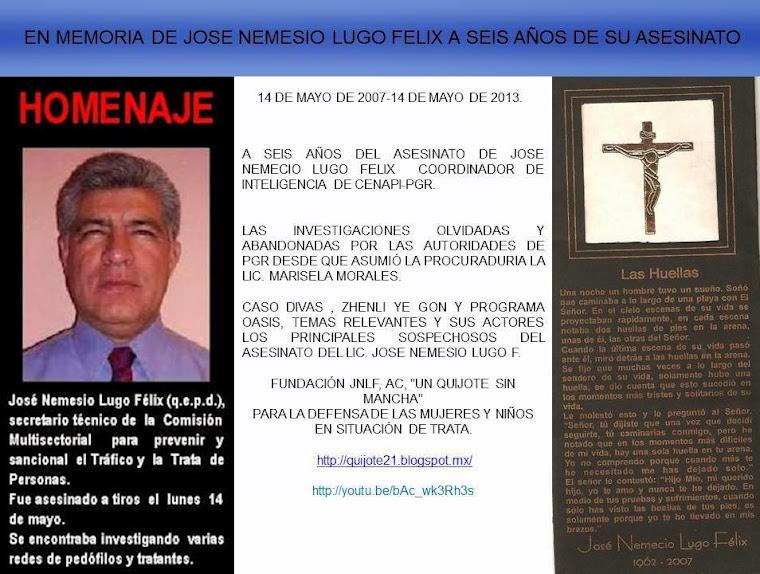 LIC. J. NEMESIO LUGO F.