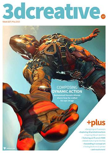 3D Creative Magazine Issue 117 May 2015