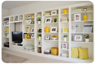 Ikea hacks- billy bookshelves