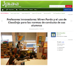 XATACA Profesores innovadores: MIREN PARDO Y ClassDojo