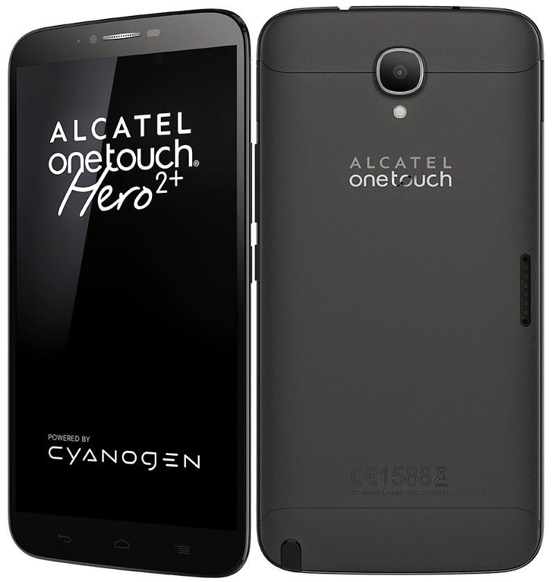 Alcatel OneTouch Hero 2+ with Cyanogen OS