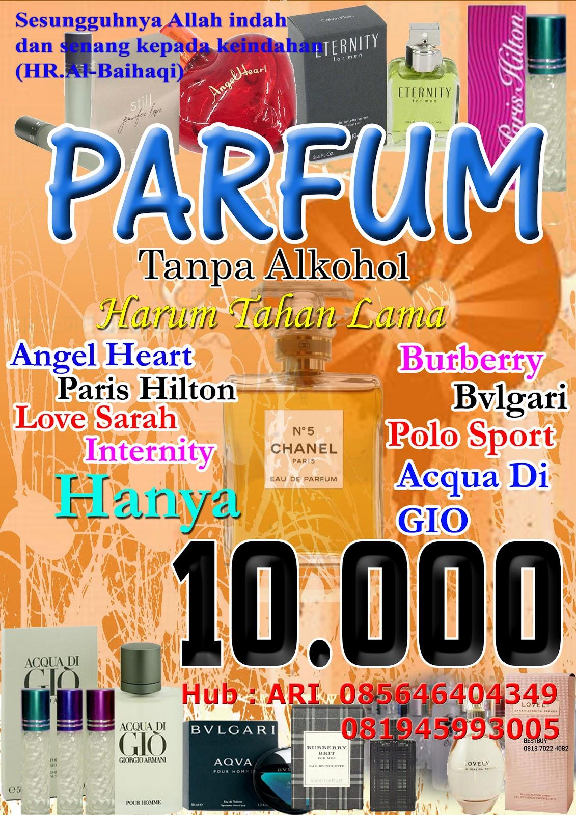 Go Parfum Non Alkohol