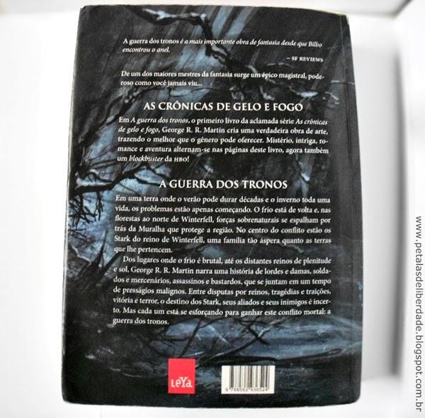A Gerra dos Tronos, George R. R. Martin, editora LeYa, As crônicas de gelo e fogo, resenha, trechos, resumo, livro, crítica, sinopse, contracapa