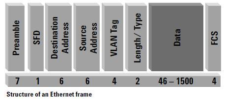 actuallyethernet frames look like - Ethernet Frames