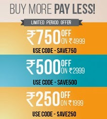 Get Bata Footwears – Rs.250 OFF on Rs.1999, Rs.500 OFF on Rs.2999, Rs.750 OFF on Rs.4999 at Bata.in