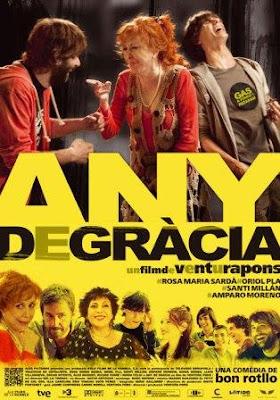 Año de Gracia (Any de Gràcia)(2011) pelicula poster