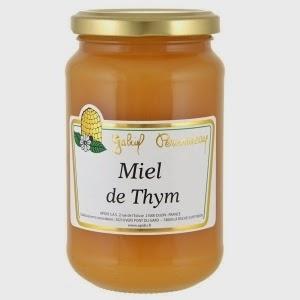 miel de thym vertue