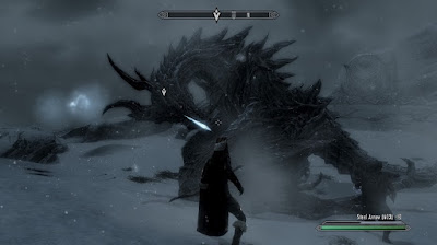 Skyrim - Facing Alduin