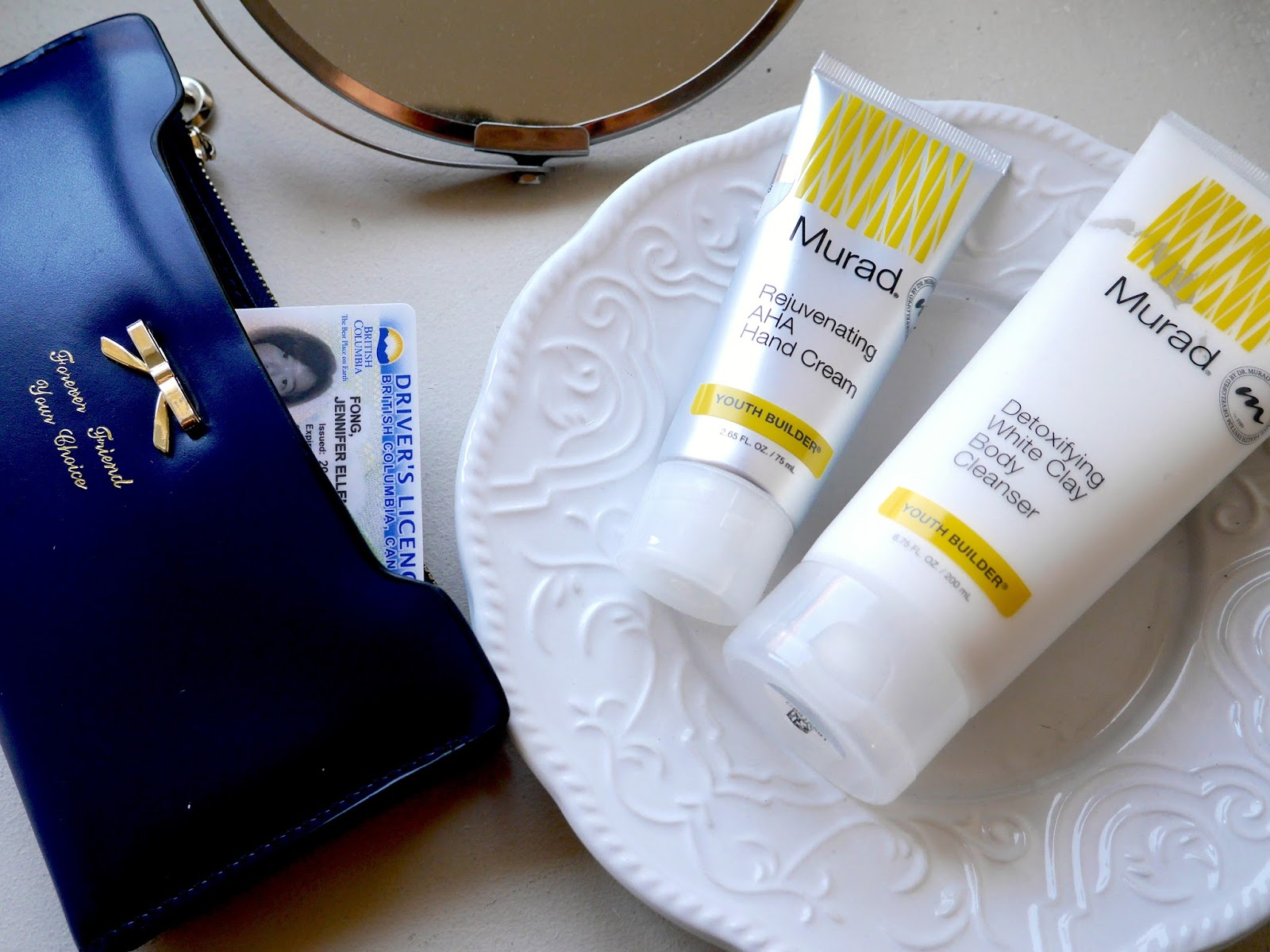Murad Youth Builder rejuvenating aha hand cream detoxifying white clay body cleanser review