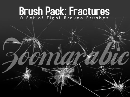 download Broken Glass Brushes For Photoshop