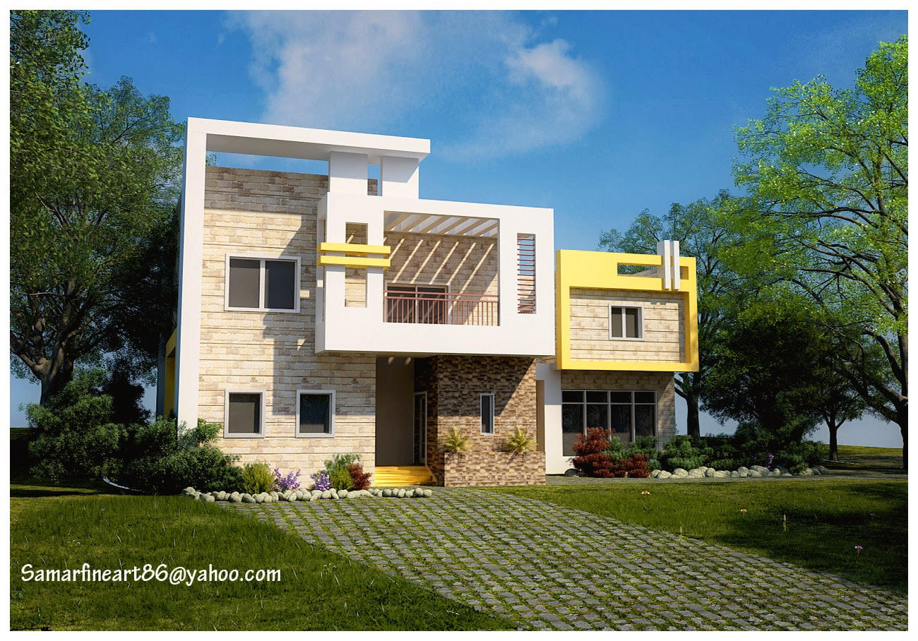 Residential building designs modern house Modern residential house plans